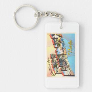 Fort Lauderdale Florida FL Vintage Travel Souvenir Keychain