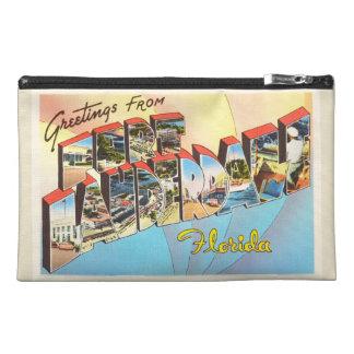 Fort Lauderdale Florida FL Vintage Travel Souvenir Travel Accessory Bags
