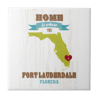 Fort Lauderdale, Florida Map – Home Is Where Tile