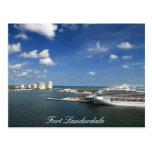 Fort Lauderdale Florida Post Card