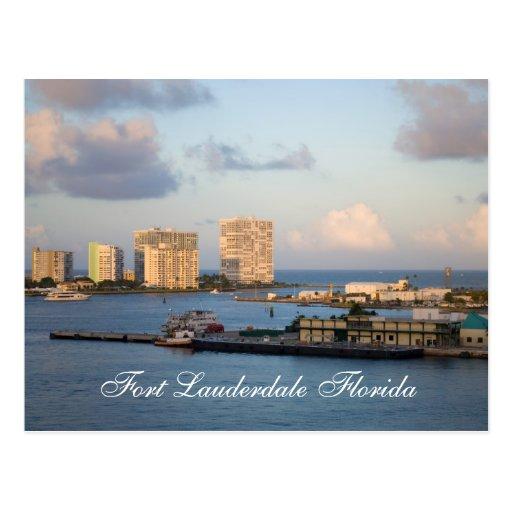 Fort Lauderdale Florida Post Cards