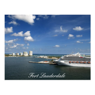 Fort Lauderdale Florida Postcard