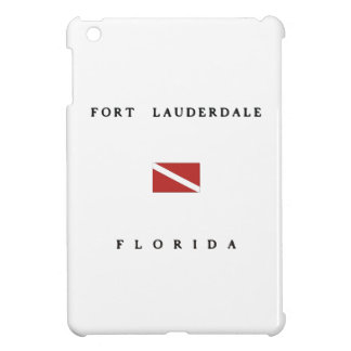 Fort Lauderdale Florida Scuba Dive Flag iPad Mini Cases