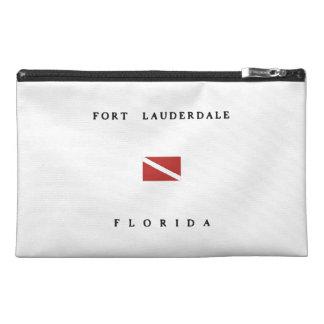 Fort Lauderdale Florida Scuba Dive Flag Travel Accessory Bag