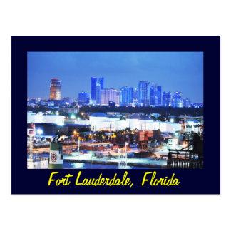 Fort Lauderdale, Florida, U.S.A. Postcard