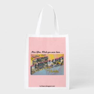 Fort Lauderdale, Florida Grocery Bag