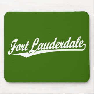 Fort Lauderdale in White Mouse Pad