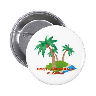 Fort Lauderdale la Florida botón tropical de las Pin