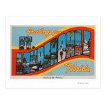 Fort Lauderdale, la Florida - escenas grandes 2 de Postal