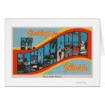 Fort Lauderdale, la Florida - escenas grandes 2 de Tarjeta De Felicitación