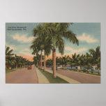 Fort Lauderdale, la Florida - vista de los Olas de Póster