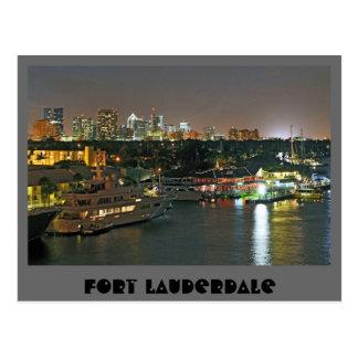 Fort Lauderdale, la Venecia de las Américas Tarjeta Postal