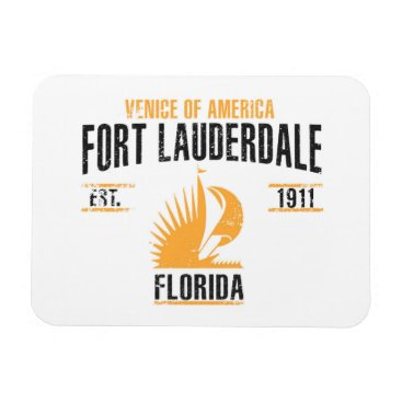 USA Themed Fort Lauderdale Magnet