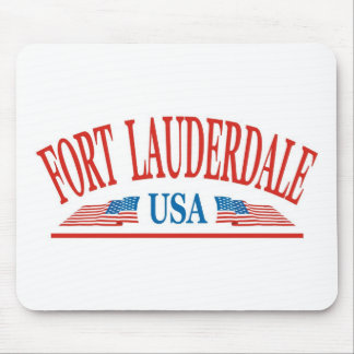 Fort Lauderdale Mouse Pad