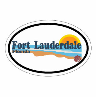 Fort Lauderdale. Photo Cut Outs