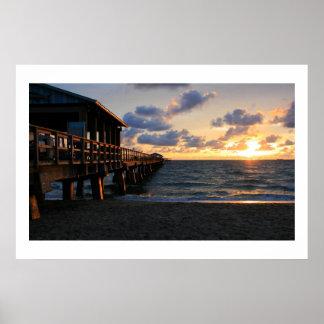 Fort Lauderdale Pier Poster