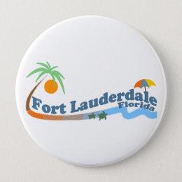 Fort Lauderdale. Pinback Button