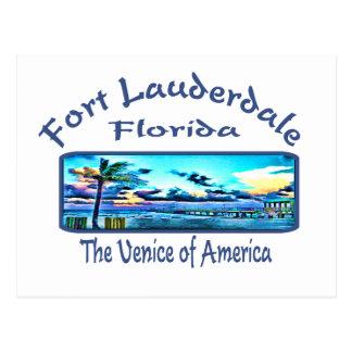 Fort Lauderdale Postcard