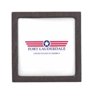 Fort Lauderdale Pride Premium Keepsake Box