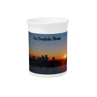 Fort Lauderdale sunrise Beverage Pitchers