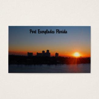 Fort Lauderdale sunrise Business Card