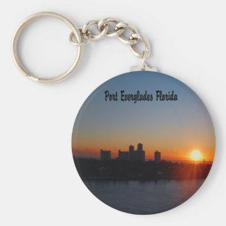 Fort Lauderdale sunrise Keychain