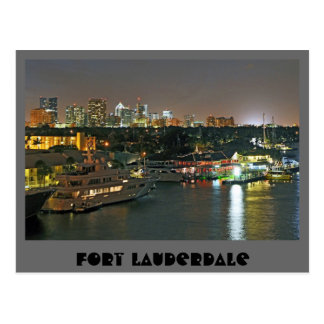 Fort Lauderdale, The Venice of the Americas Postcard