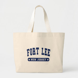 Fort Lee New Jersey College Style tee shirts Tote Bag