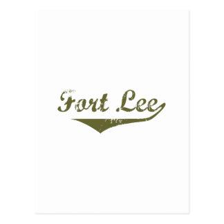 Fort Lee Revolution t shirts Postcard