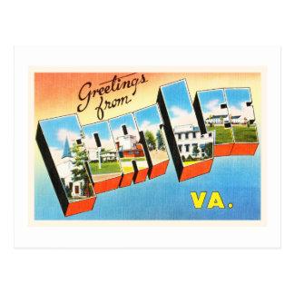 Fort Lee Virginia VA Old Vintage Travel Postcard- Postcard