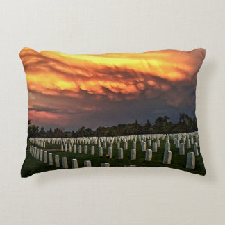 Fort Logan National Cemetery Decorative Pillow