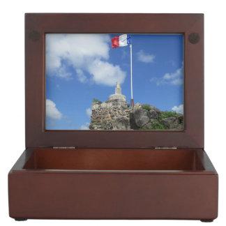"Fort Louis Flag ""St. Maarten"" Memory Box"