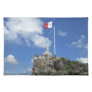 "Fort Louis Flag ""St. Maarten"" Cloth Placemat"