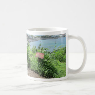 Fort Louis Rampart Cannon Coffee Mugs