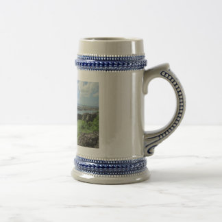 "Fort Louis Rampart Walls ""St. Maarten"" Beer Stein"