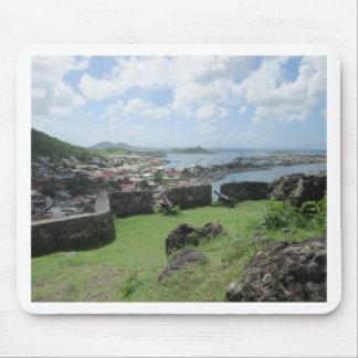 "Fort Louis Rampart Walls ""St. Maarten"" Mouse Pad"