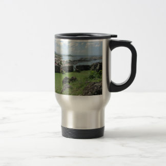 "Fort Louis Rampart Walls ""St. Maarten"" Travel Mug"