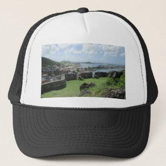 """Fort Louis Rampart Walls """"St. Maarten"""" Trucker Hat"""