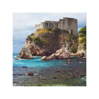 Fort Lovrijenac in Dubrovnik Canvas Print