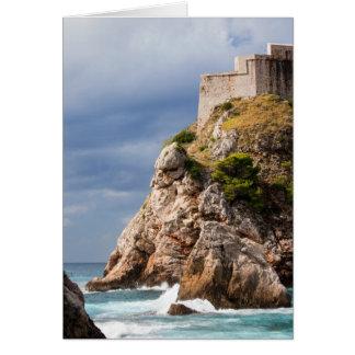 Fort Lovrijenac in Dubrovnik Card