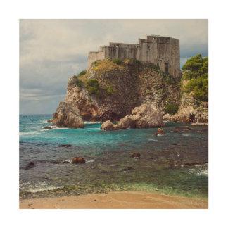 Fort Lovrijenac in Dubrovnik Wood Wall Decor