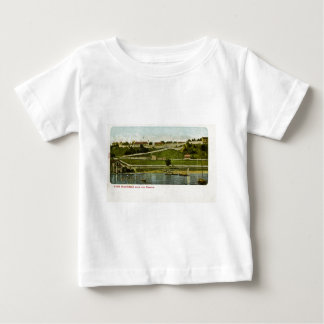 Fort Mackinac from the Harbor Vintage Baby T-Shirt