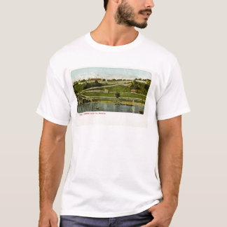 Fort Mackinac from the Harbor Vintage T-Shirt