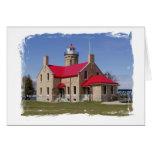 Fort Mackinaw Lighthouse, MI Card