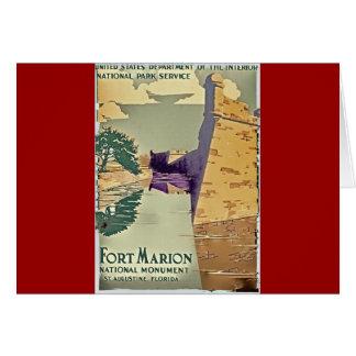 Fort Marion Design Card