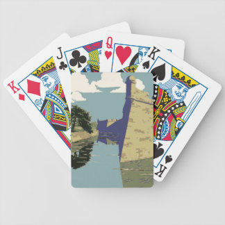 Fort Marion National Monument St Augustine Florida Bicycle Playing Cards