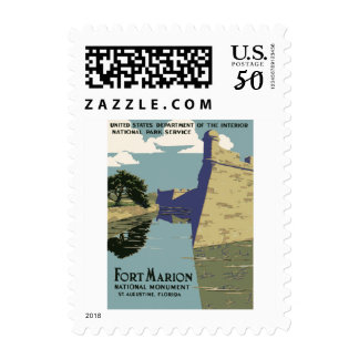 Fort Marion National Monument St Augustine Florida Postage