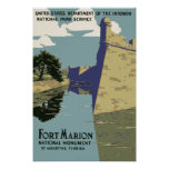 Fort Marion National Monument St Augustine Florida Posters
