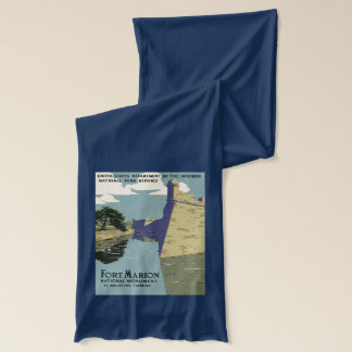 Fort Marion National Monument St Augustine Florida Scarf