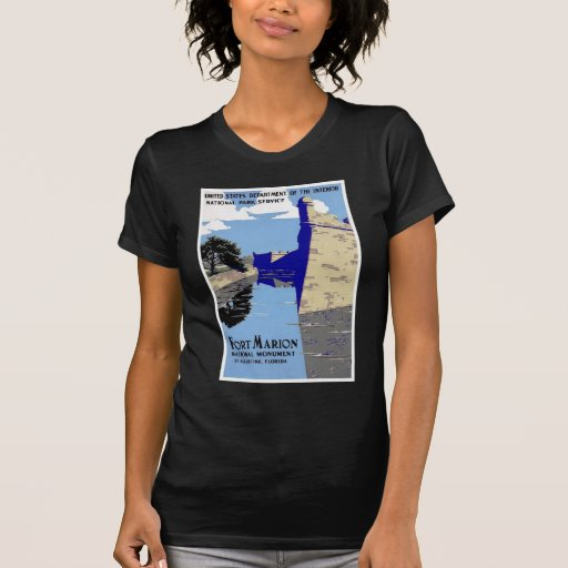 Fort Marion National Monument St Augustine Florida T-Shirt